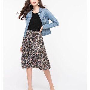 🍉25% OFF Plus Sz XXL Floral Tiered Skirt